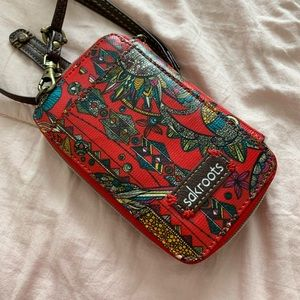 Sakroots crossbody wallet